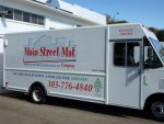 Main Street Mat Company truck